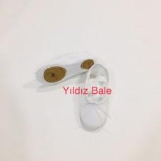 Beyaz Kanvas Bale Patiği